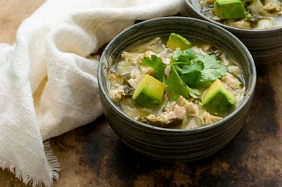 Chicken posole verde (chicken pozole verde)