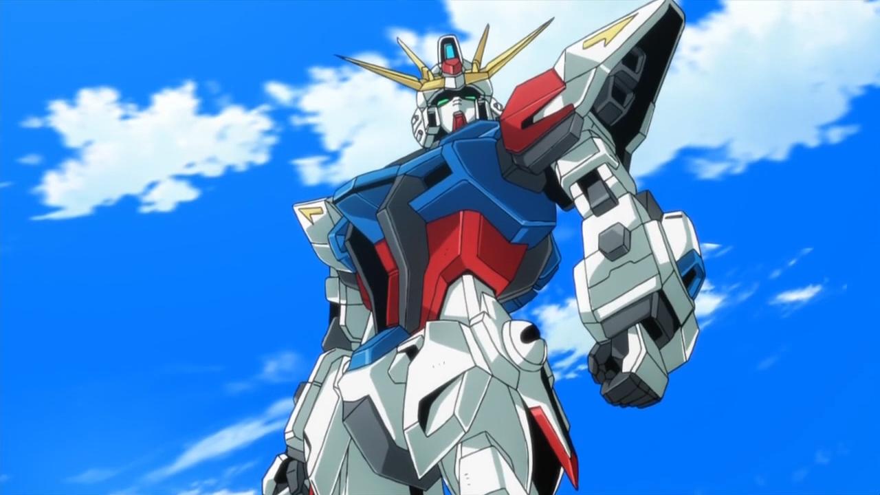 3 episode test 3et gundam build fighters for Domon in gundam build fighters