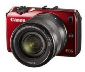 Canon EOS-M Mirrorless Digital Camera