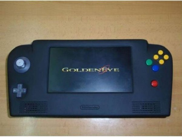 video game nintendo 64 portatatil mobile