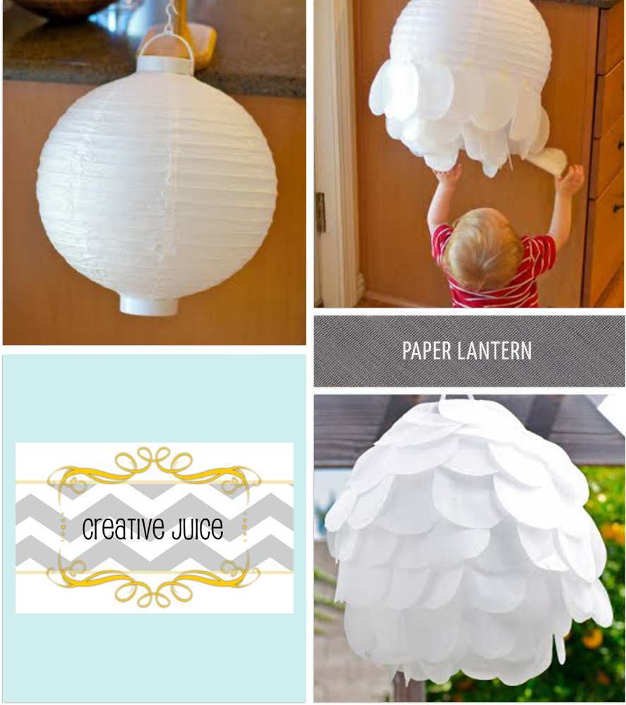 Pure joy events party tutorial contest 4 winners announced for Paper lantern tutorial