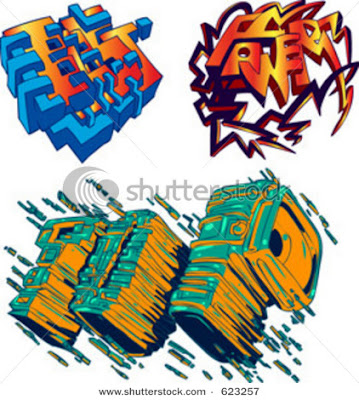 Graffiti Letters,Graffiti Words