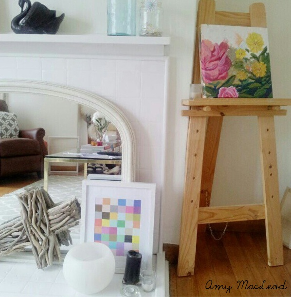 Eclectic artwork - Amy MacLeod - Five Kinds of Happy blog