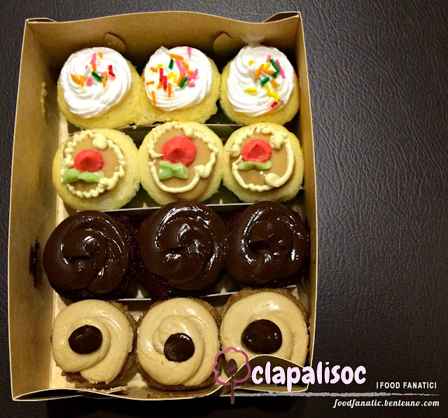Costa Brava Cupcakes Assorted