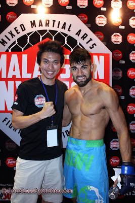 Ariel Tarzan Sexton MMA ONE FC