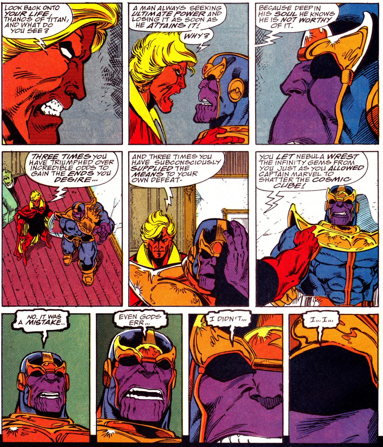marvel comics le gant de l'infini