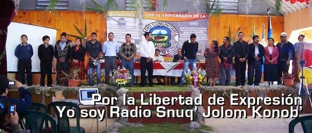 Yo soy Radio Snuq' Jolom Konob'