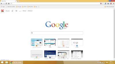 استعادة الشكل القديم لمتصفح لجوجل كروم بعد التحديث