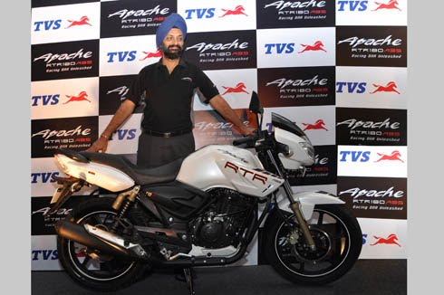 New Apache RTR 180 ABS