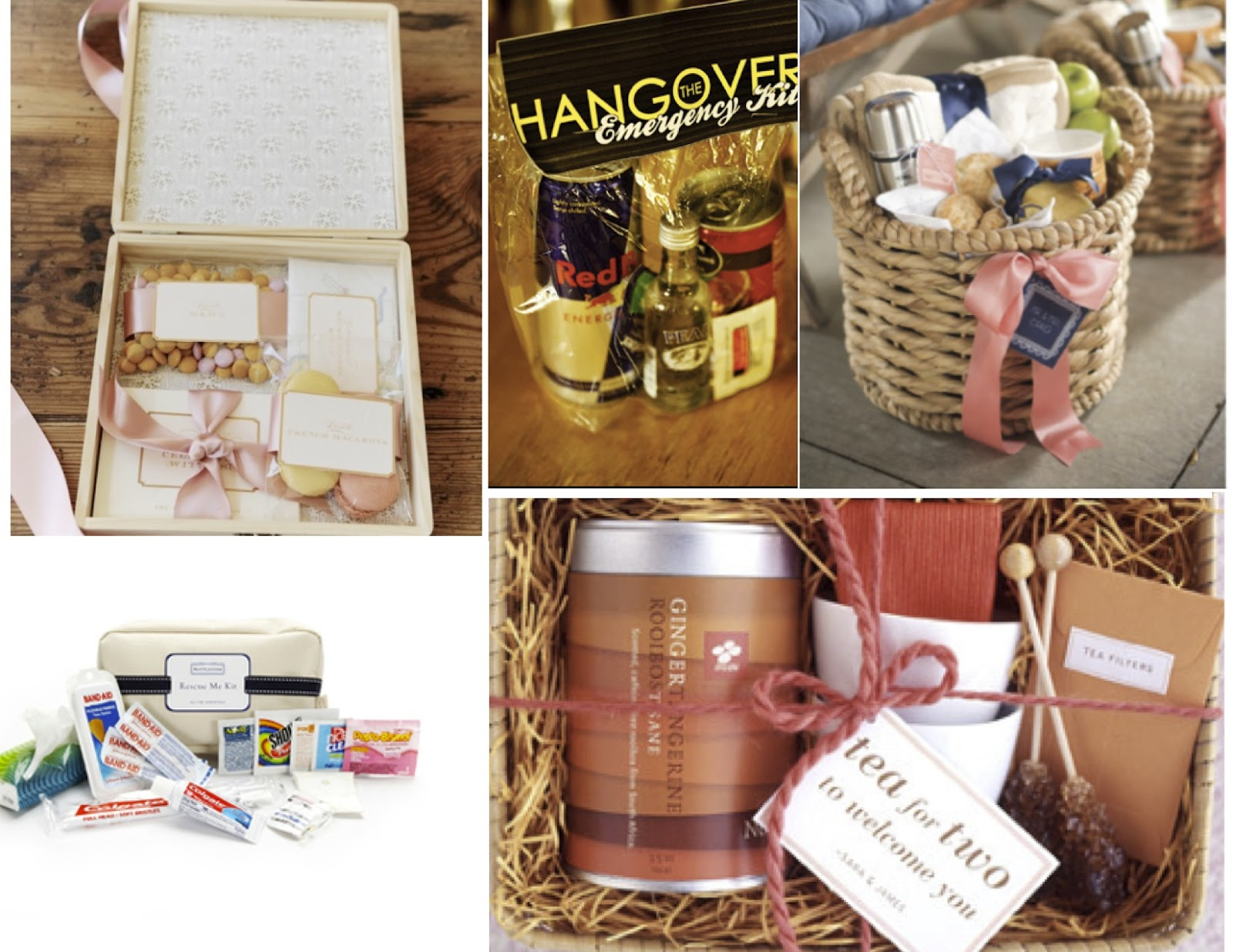 The Soiree Blog: Wedding Welcome Gifts