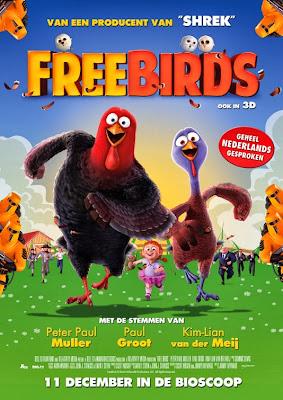 [32809] Free Birds Tacchini in Fuga Locandina Olandese | Film Update