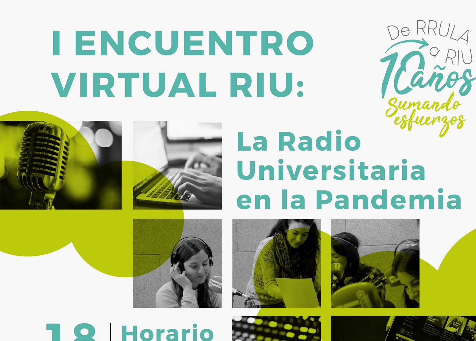 RADIOS UNIVERSITARIAS, I ENCUENTRO VIRTUAL