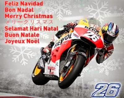 Ucapan Selamat Natal Dari Pedrosa