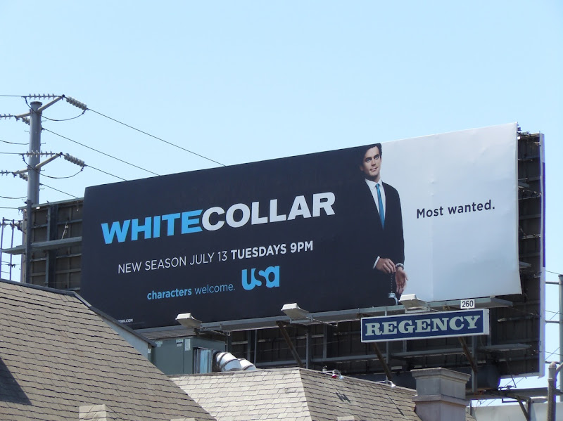White Collar season 2 billboard
