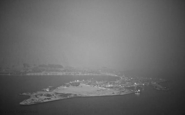 исафьордюр в снегу