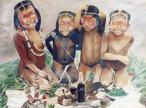 xinguana-crianças