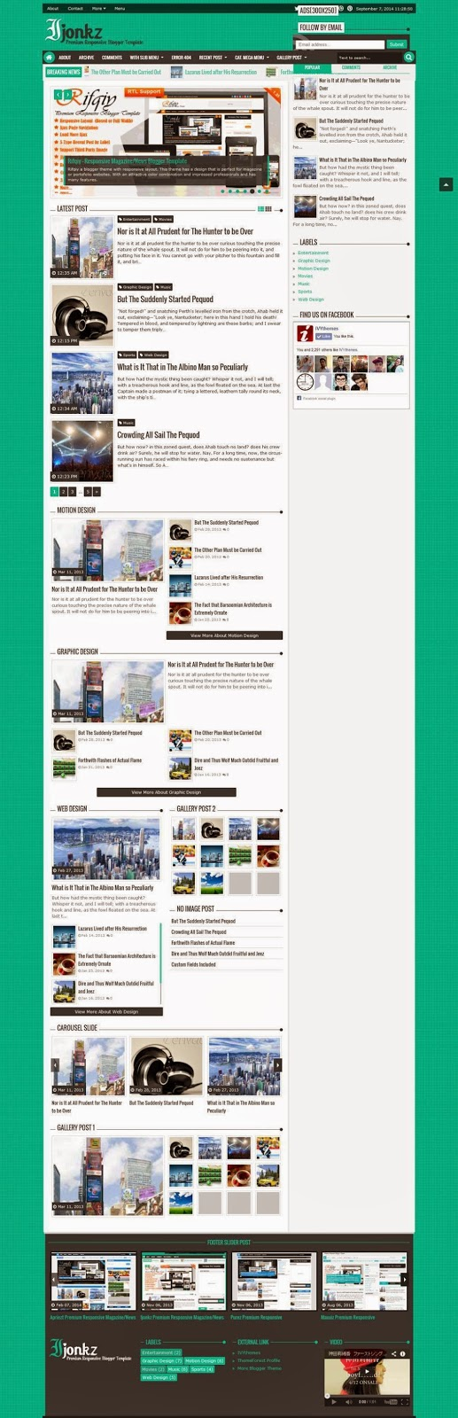 Ijonkz blogger template by www.firoz.me