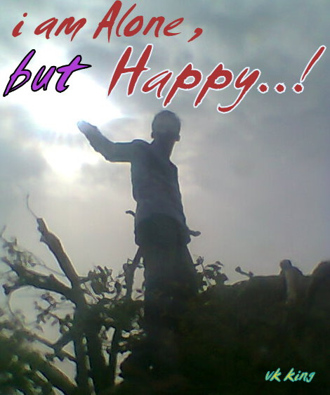 I Am Alone But Happy Images i m Alone   But Happy   vk