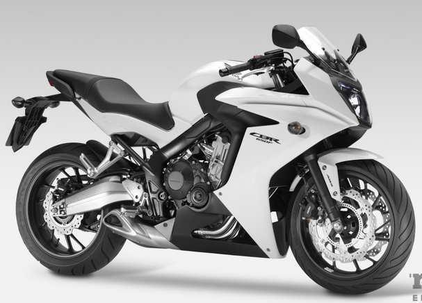 Honda CBR650F-warna putih