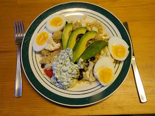mat med avokado