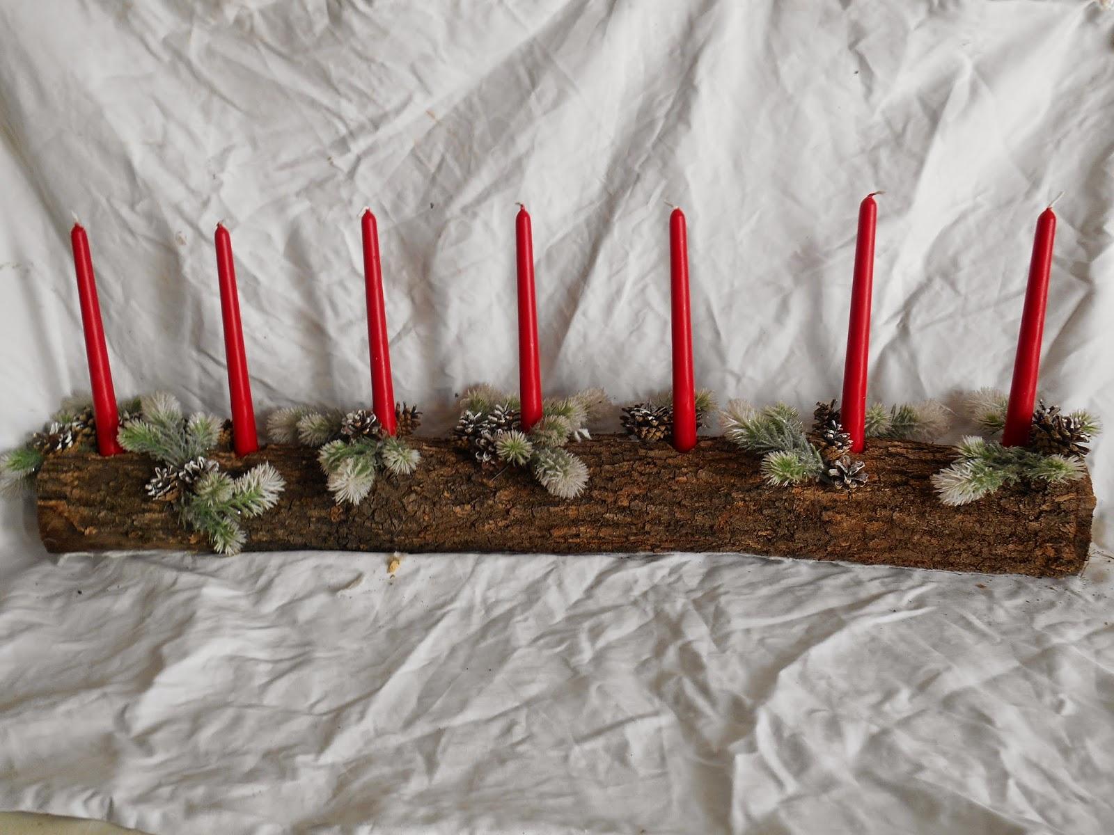 Popolare Il legno di Carmen: Ultimi lavoretti e decori per Natale EN64
