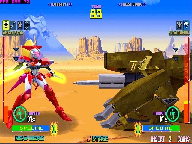 Tech Romancer+arcade+game+portable+fight+3d+videojuego+descargar gratis
