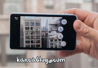 Galaxy Kamera ekranı