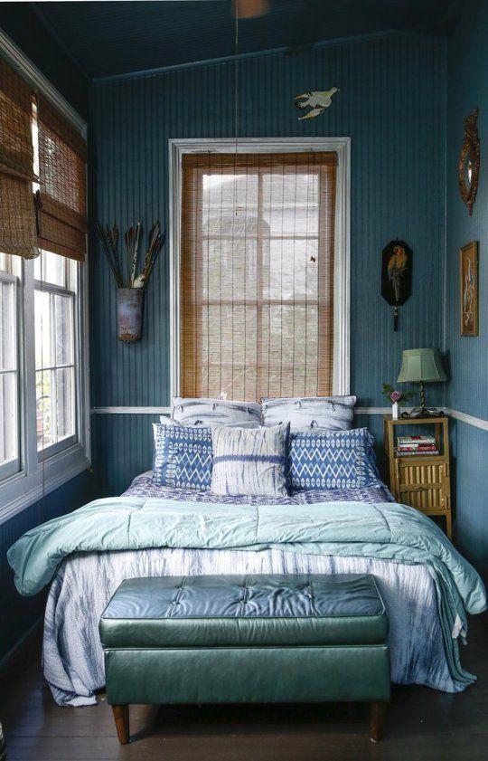 9 fotos de dormitorios azules todo inspiraci n - Colores azules para habitaciones ...