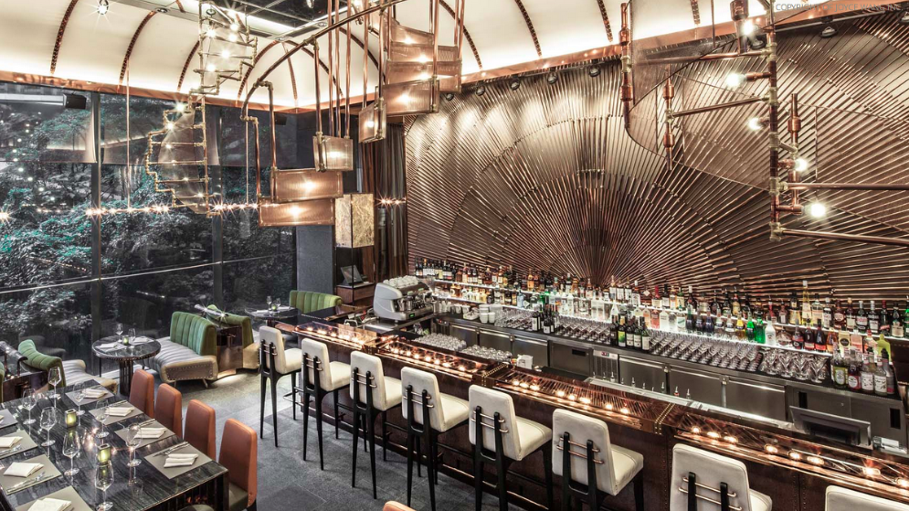 Nest of Pearls - Design Blog - AMMO Restaurant by Joyce Wang