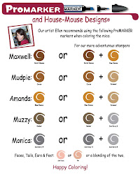 ProMarker Coloring *TIPS* for House Mouse Stamps
