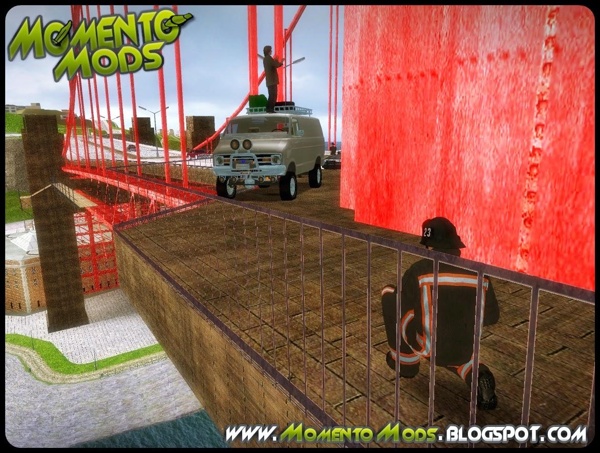 GTA SA - Homem Bomba Na Ponte