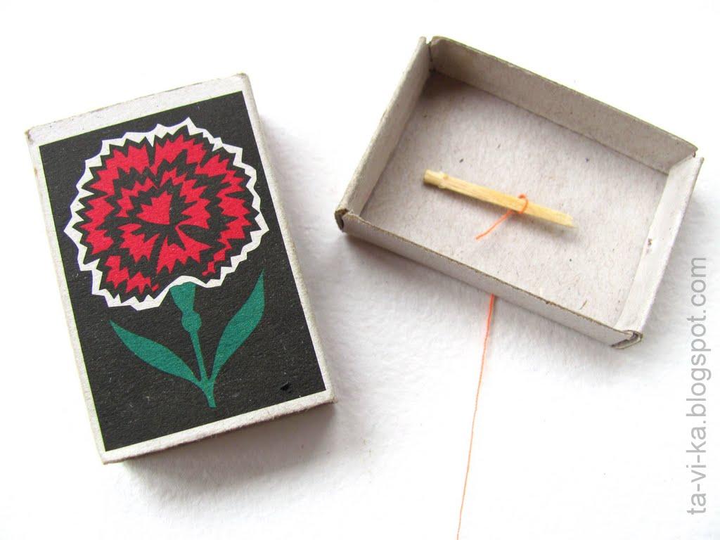 Как сделать рацию из спичечных коробков и нитки