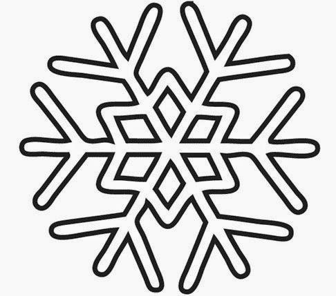 Molde copo nieve