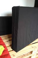 Housse pour assise en mousse de canapé en palette