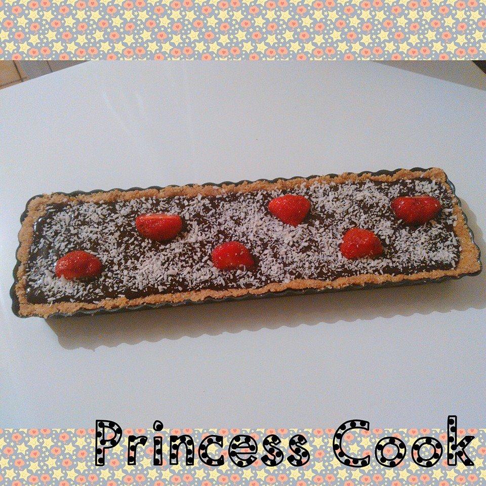 princess cook tarte au chocolat sans cuisson. Black Bedroom Furniture Sets. Home Design Ideas