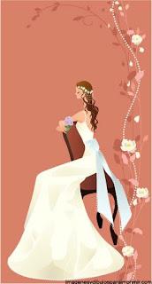 Imprimir dibujos de novias