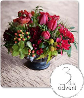 francois weeks, advent, blommor advent