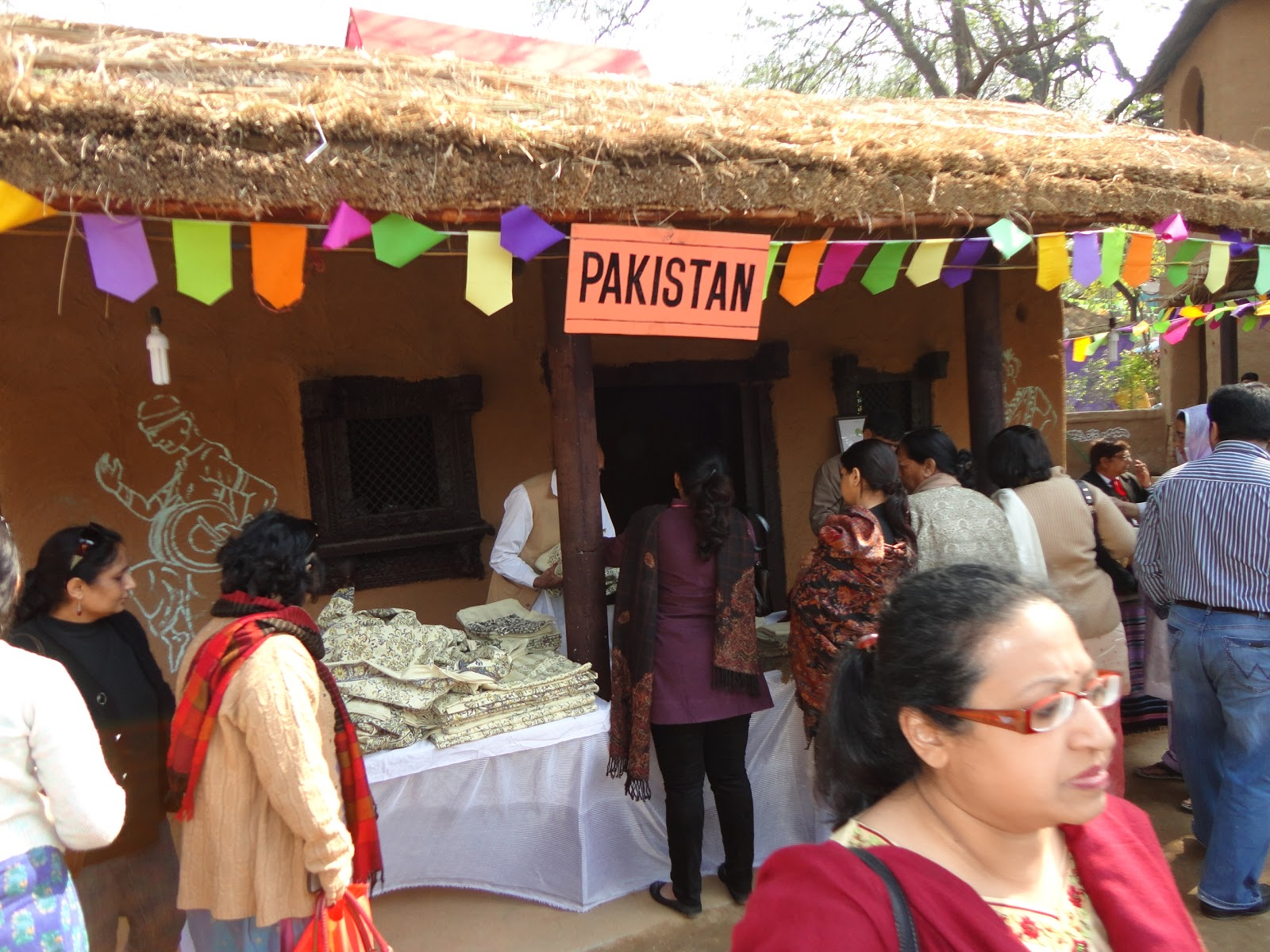 Pakistan Stall at Surajkund Crafts Mela,India