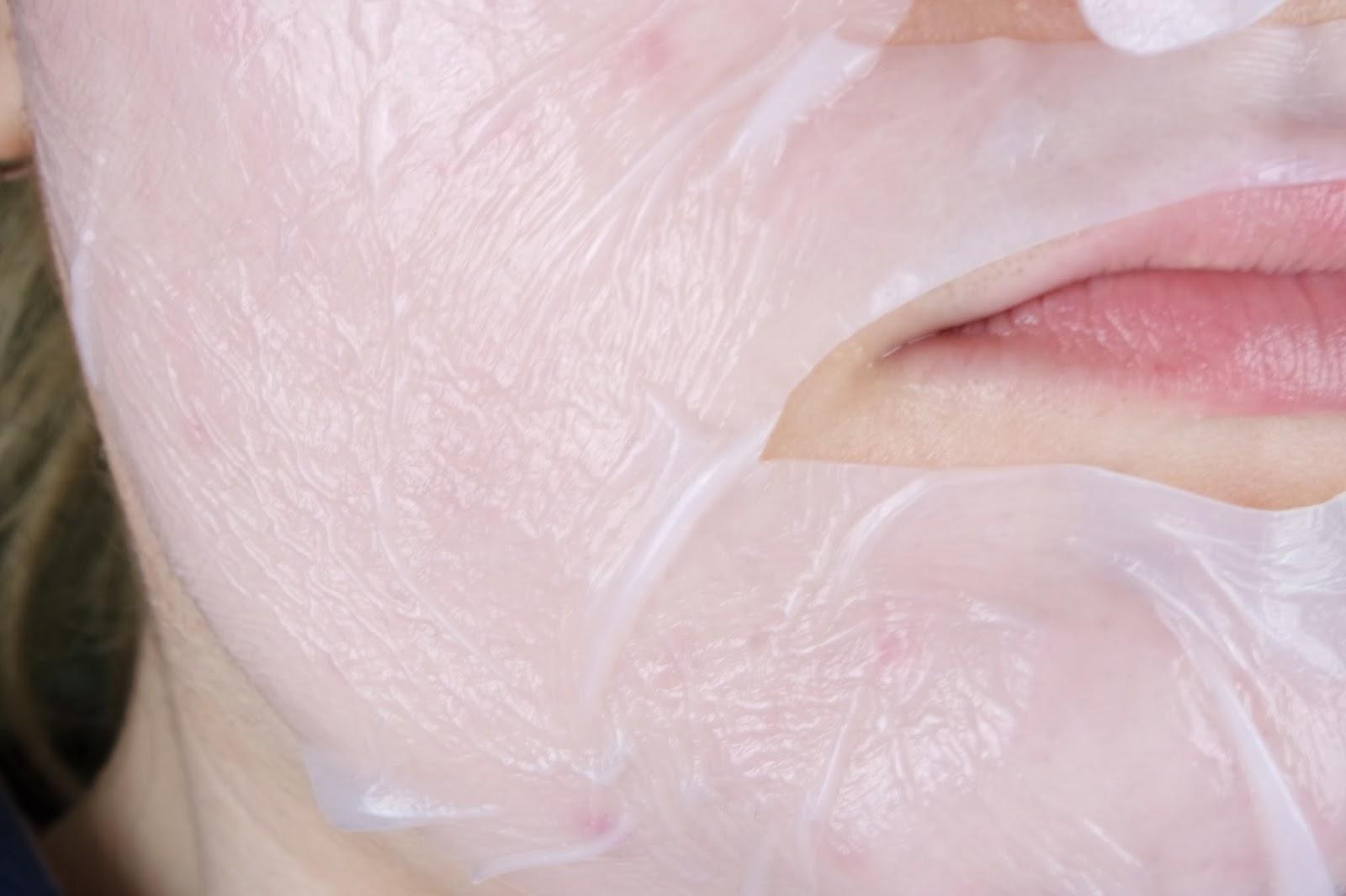 Elizavecca Bio Cling Whitening AQUA MASK ( 바이오마스크팩)