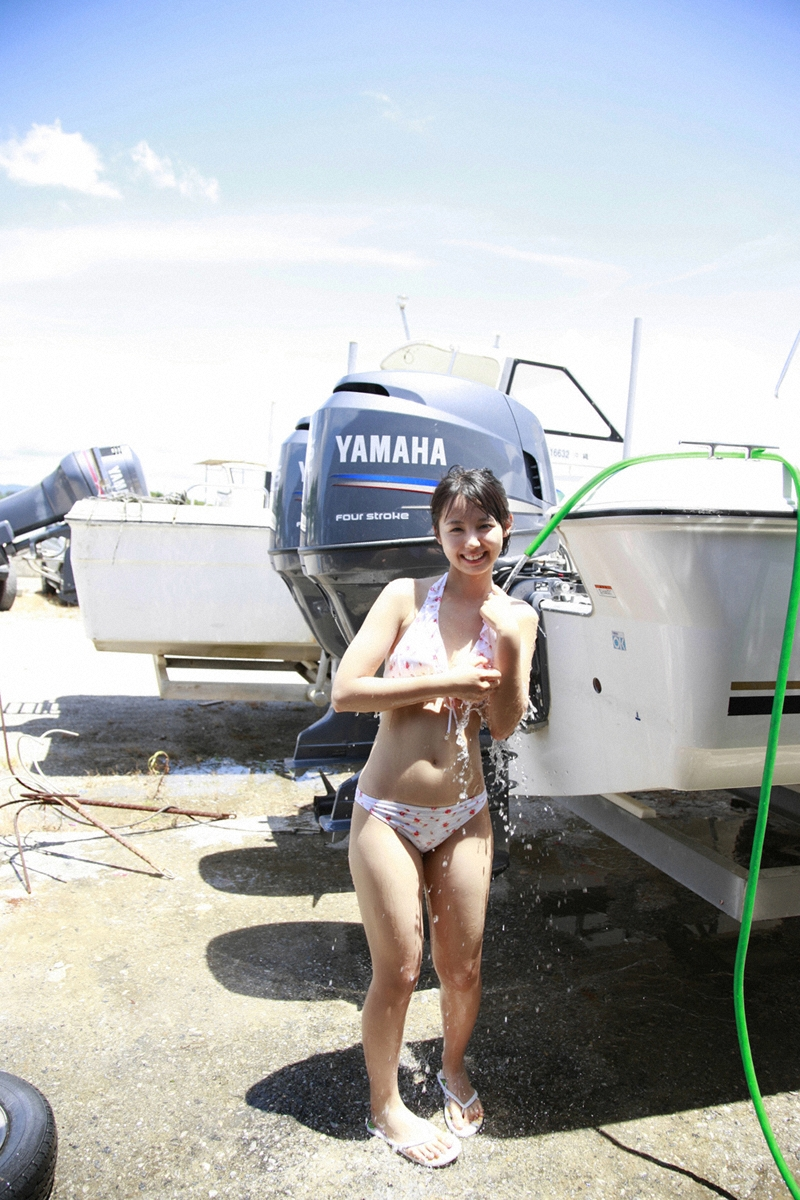 rina koike bikini shower photo 03