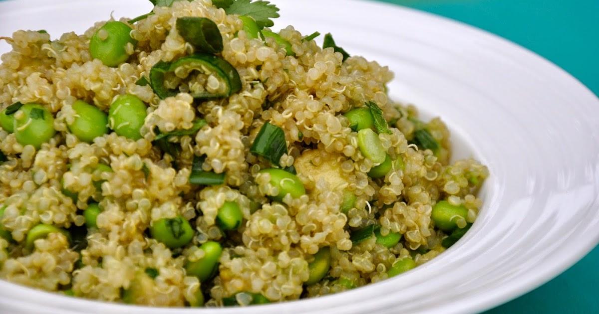 My Clean Cuisine: Green Goodness Quinoa Salad