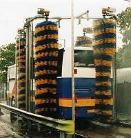 The economical vehicle washing machine made by Autowash Engineering