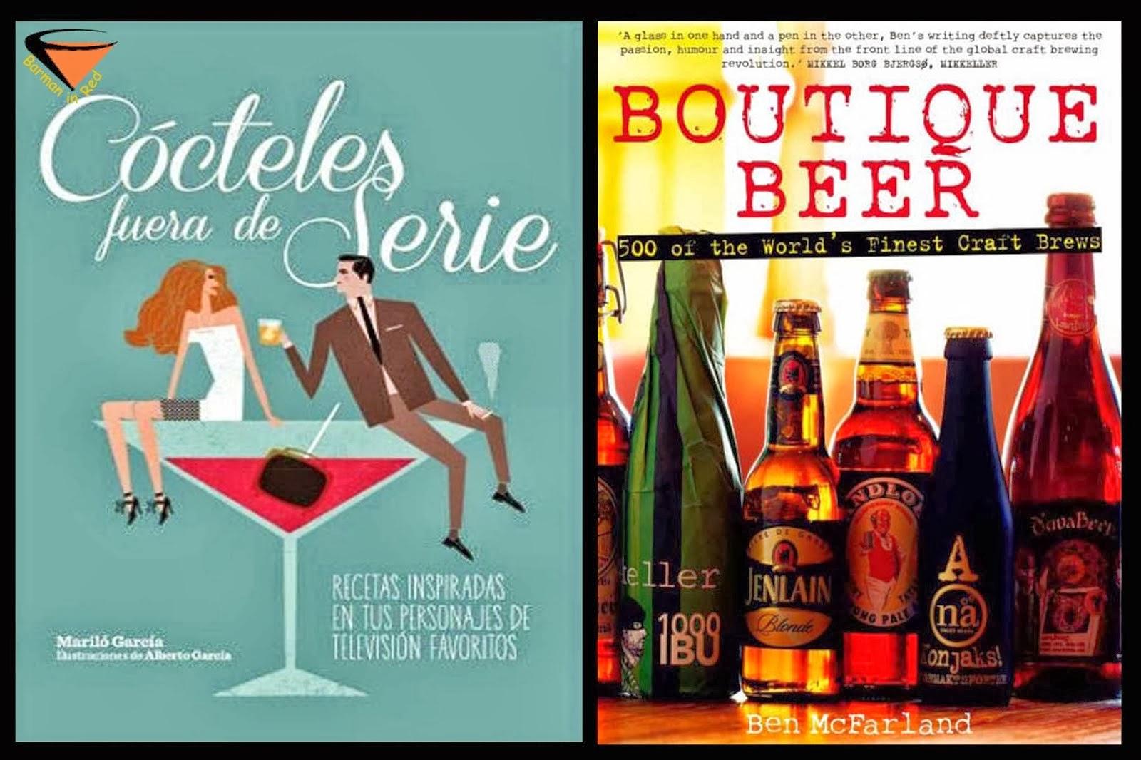 libros cocteles y bebidas