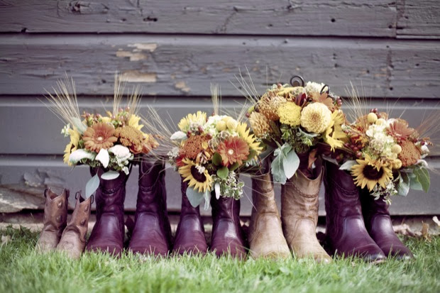 getting married in boots