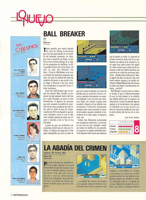MicroManía - Año 4 - Nº 031 - Enero 1988