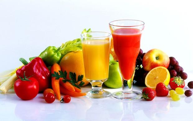 Receitas de sucos Nutritivos e Antioxidantes