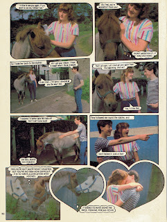 Horsing Around photo story from Jackie annual '84, starring Alan Cumming 5