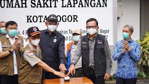 BNPB dan Pemkot Bogor Resmikan Rumah Sakit Lapangan Covid-19