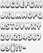 Moldes de letras letras para colorear imprimir