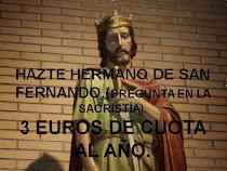 APUNTATE A LA HERMANDAD DE SAN FERNANDO.
